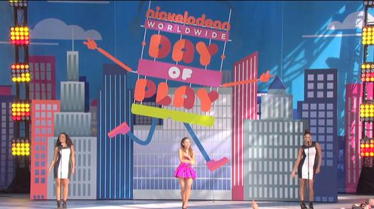 Worldwide Day of Play 2013: Ariana Grande and BTR's Concert Special!