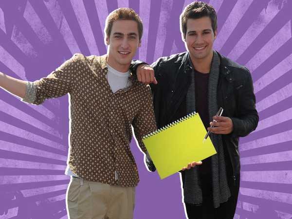 Big Time Rush: Kendall & James Take a Test!