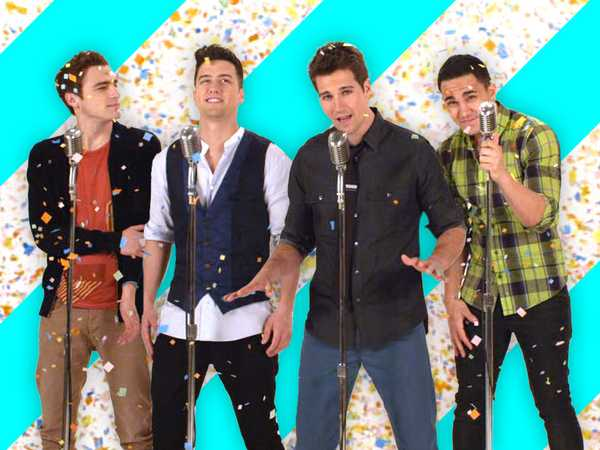 "Big Time Rush: ""Confetti Falling"""