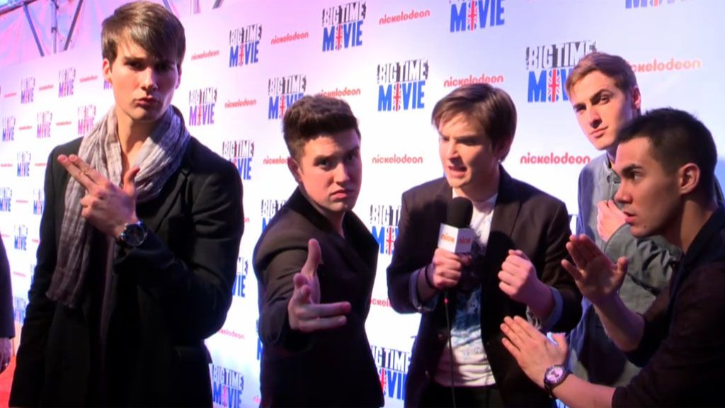 Big Time Rush: Big Time Movie Premiere: BTR Takes the Orange Carpet! Video Clip | Nick Videos