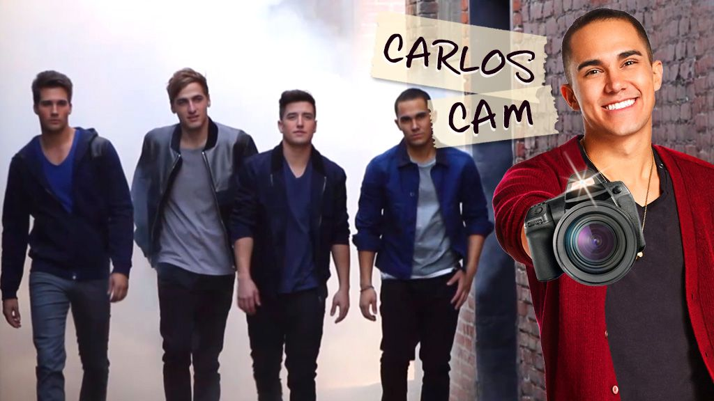Big Time Rush: Carlos Cam: The Boys Ham it Up! Video Clip | Nick Videos