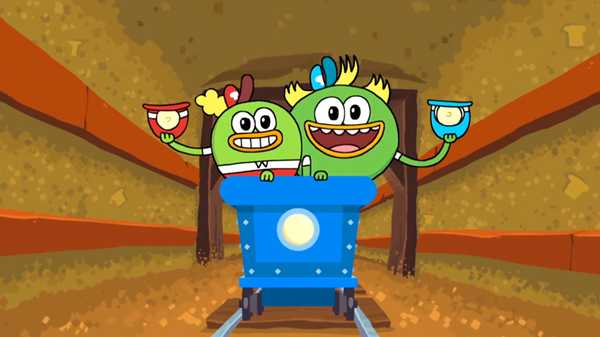 "Breadwinners: ""Quazy for Vanessa/Tunnel of Fear"""