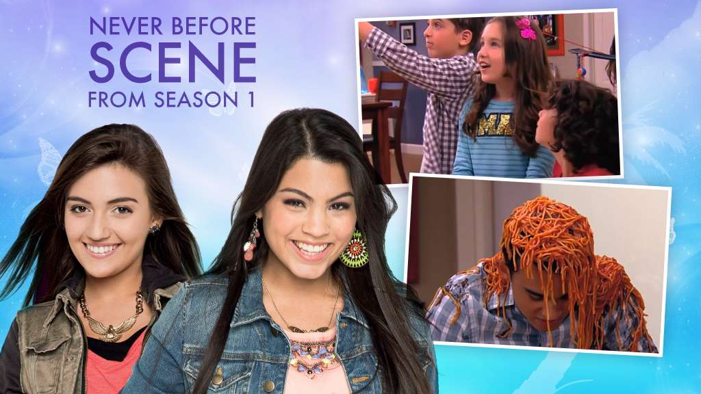"""Every Witch Way: """"Never Before Scene: Pasta Prank!"""""""