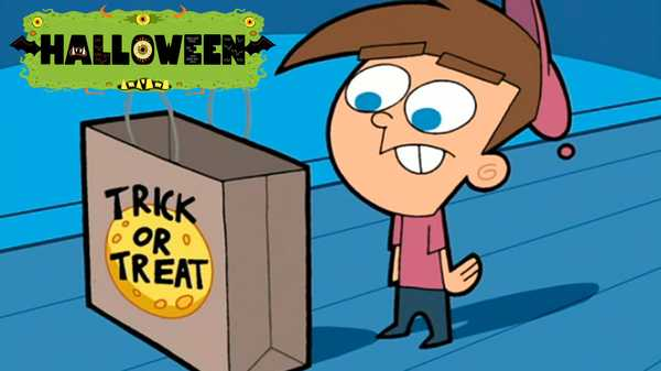 """The Fairly OddParents: """"Scary Godparents"""""""