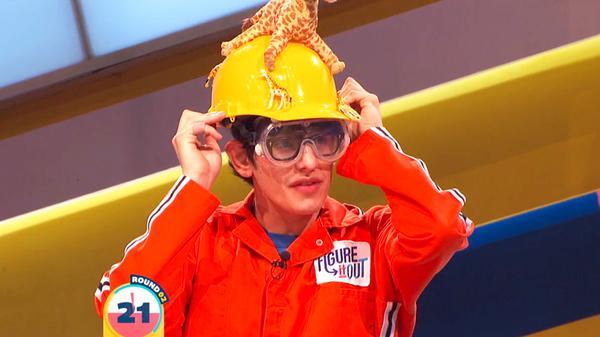 """Figure It Out: """"Matt's Giraffe Slime Shield"""""""