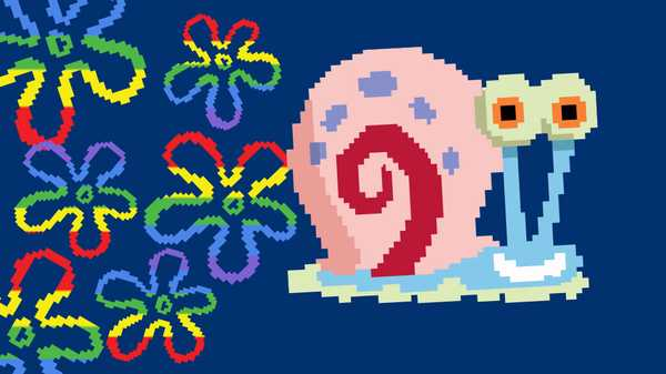 "SpongeBob SquarePants: ""Rainbow Space Snail!"""