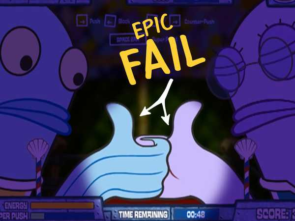 NickGamer: Epic Fails: Super Spongey Games