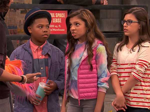 "Game Shakers: ""Babe's Bench"""