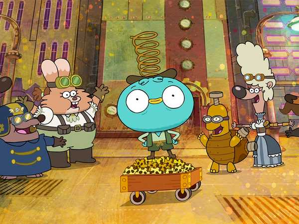 "Harvey Beaks: ""Steampunks Part 1/Steampunks Part 2"""