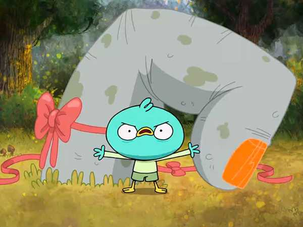 "Harvey Beaks: ""The Finger/The Negatives of Being Positively Charged"""