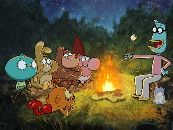 "Harvey Beaks: ""Ghost Stories"""