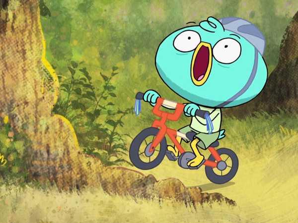 "Harvey Beaks: ""Bike Riding"""