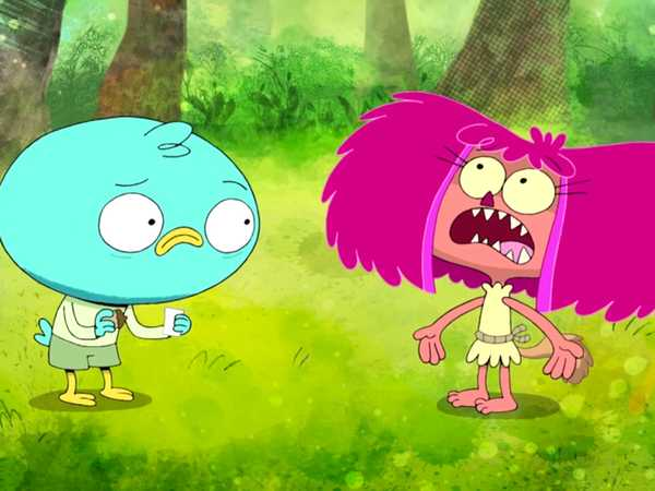 """Harvey Beaks: """"Message From the Squirrels"""""""