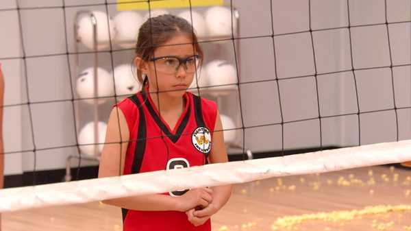 "Haunted Hathaways: ""Haunted Volleyball"""