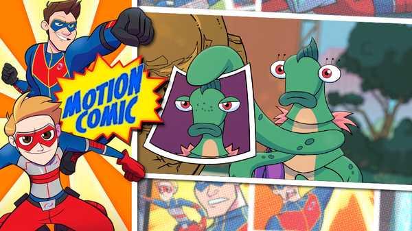 """Henry Danger: """"Motion Comic Issue #03: Alien Hunt"""""""