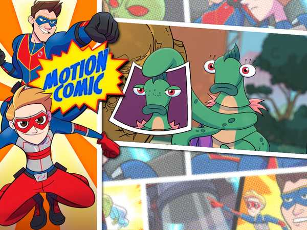 "Henry Danger: ""Motion Comic Issue #03: Alien Hunt"""