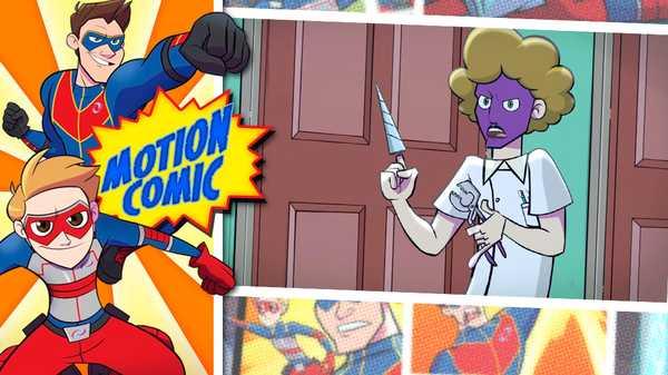 """Henry Danger: """"Motion Comic Issue #02: Drillfinger Attacks!"""""""