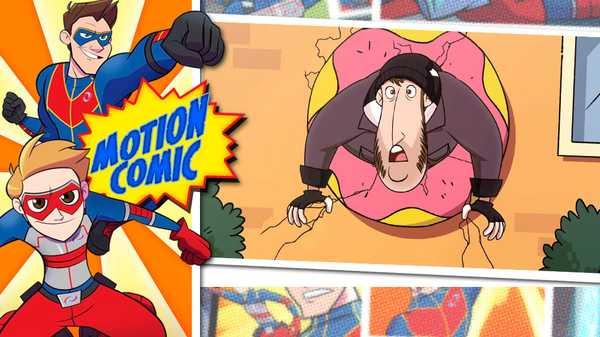 """Henry Danger: """"Motion Comic Issue #4: The Return of Jeff"""""""