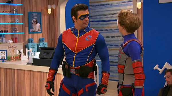 "Henry Danger: ""Captain Man: On Vacation"""