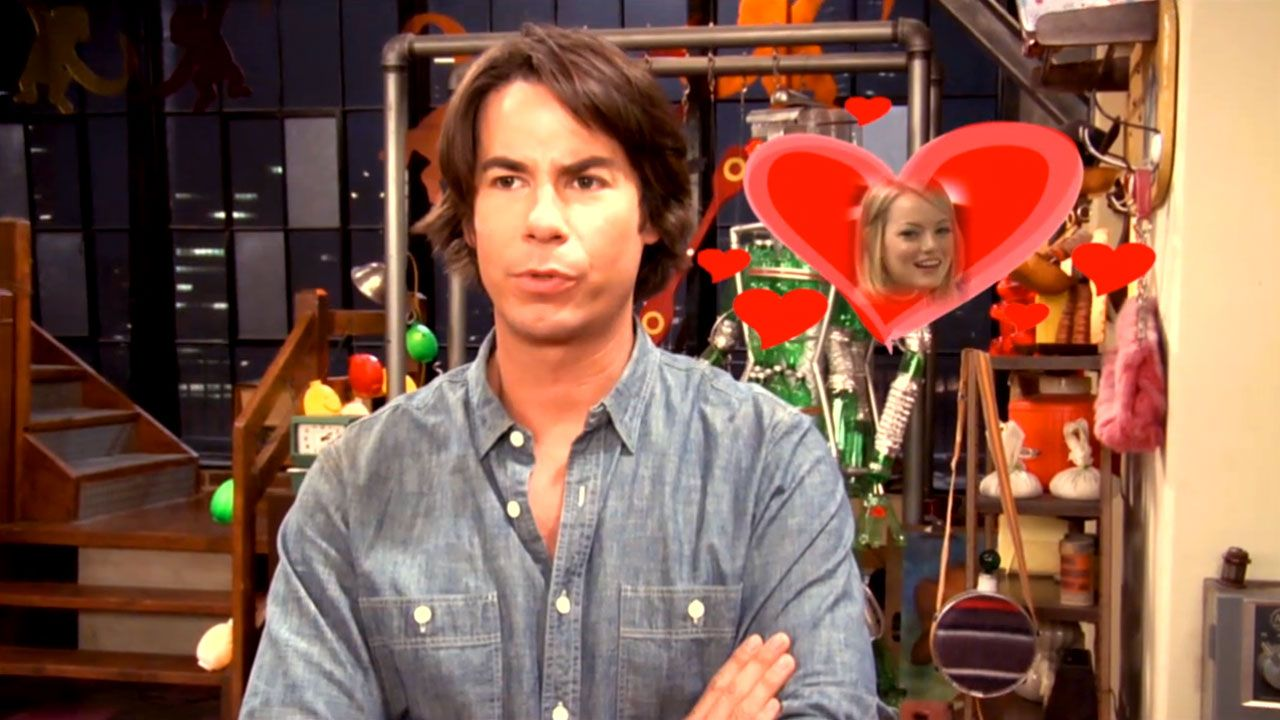iCarly: Jerry and Emma Stone Sitting in a Tree... Video Clip | Nick Videos