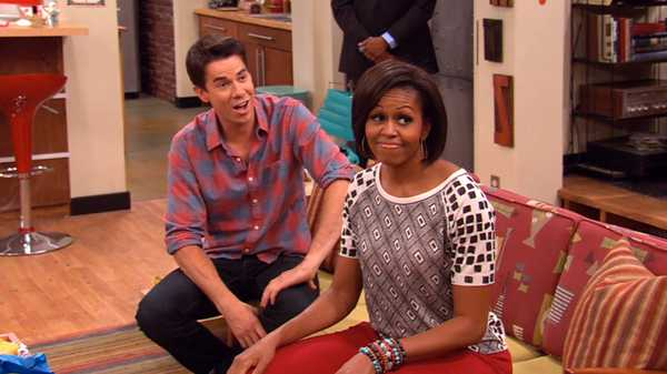 "iCarly: ""iMeet the First Lady"""