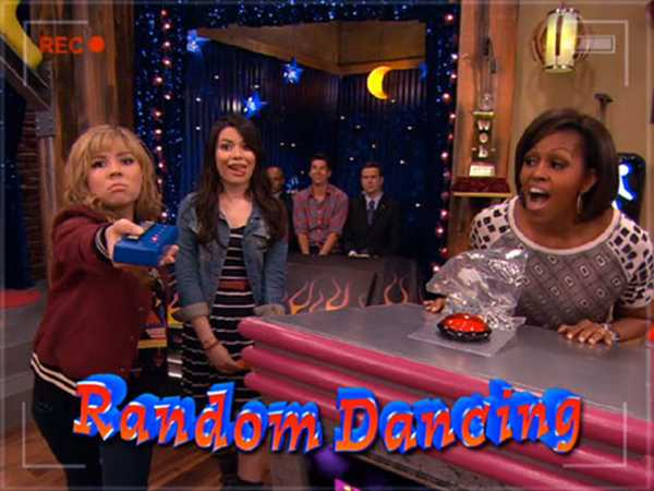"iCarly: ""iMeet the First Lady: Random Dancing with the First Lady!"""