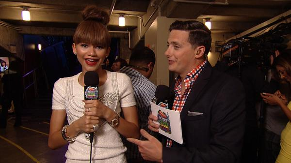 Kids' Choice Awards 2014 Backstage: Zendaya's Guide to Slime Style!