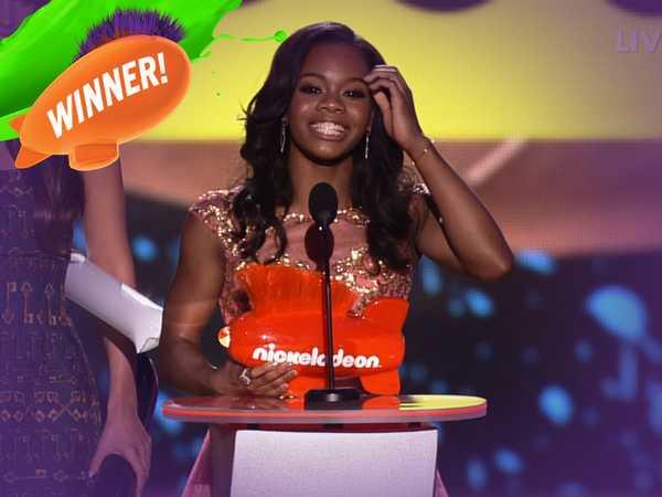 Kids' Choice Sports Awards: Gabby Douglas is the Best Female Athlete