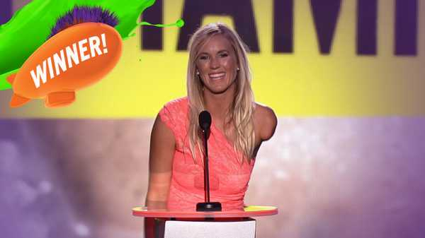 Kids' Choice Sports Awards: Favorite Comeback Athlete Award!