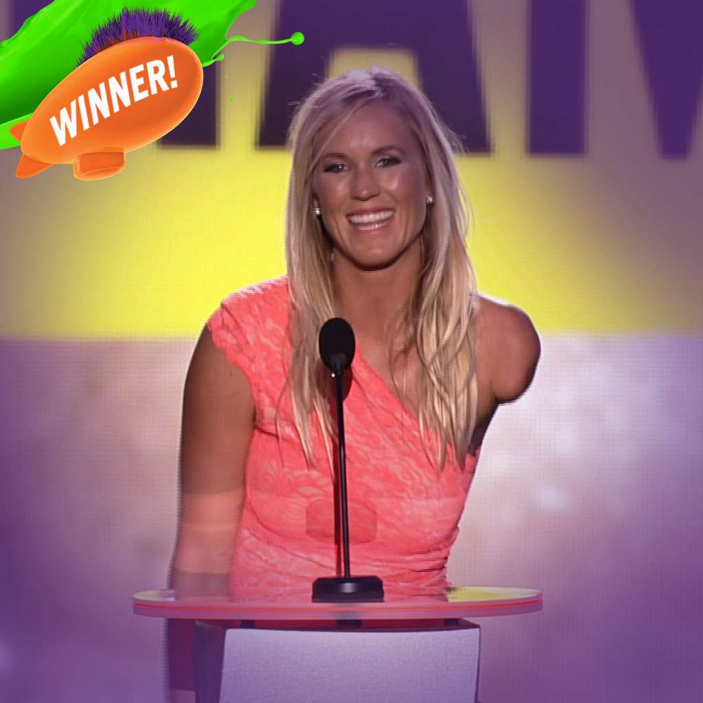Kids' Choice Sports Awards: Favorite Comeback Athlete Award!