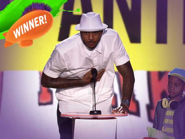 Kids' Choice Sports Awards: Clutch Player Of The Year Award!