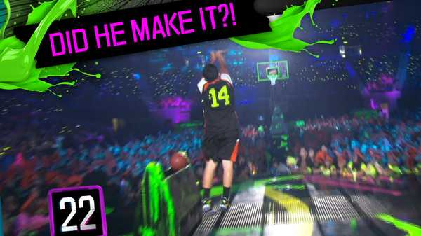 Kids' Choice Sports Awards: Half Court Shot!
