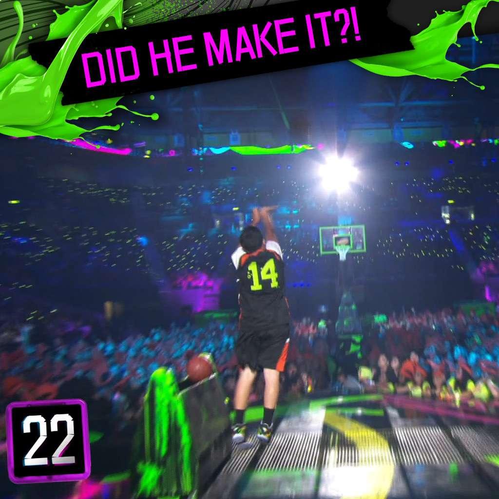Kids' Choice Sports Awards: Half Court Shot!