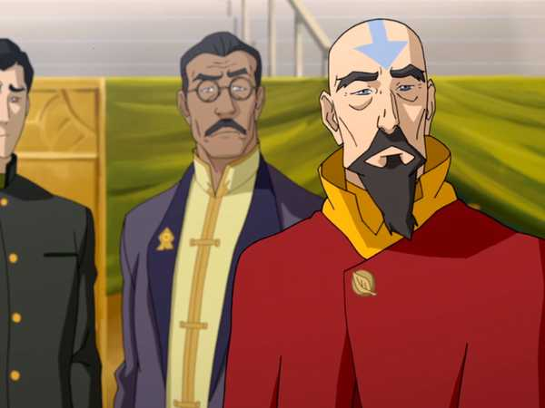 "Legend of Korra: The Coronation: ""Ceremony Prep"""
