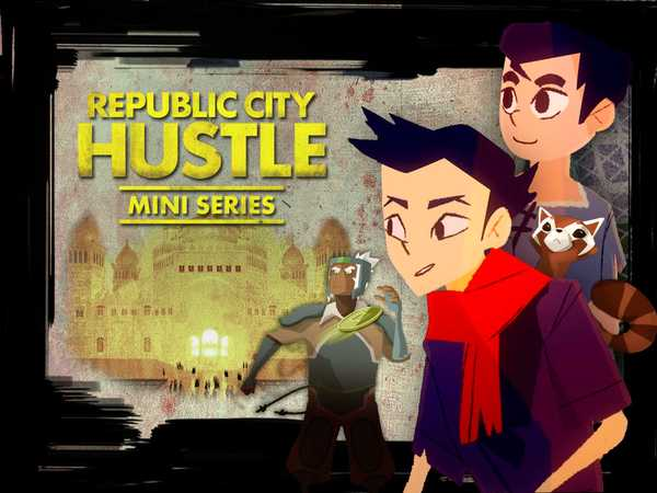 "Legend of Korra: ""Republic City Hustle: Mini Series"""