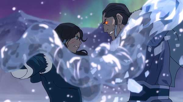 "Legend of Korra: ""Darkness Falls"""