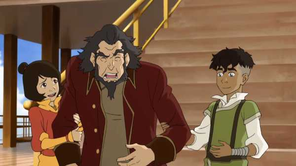 "Legend of Korra: The Earth Queen: ""Professor Jinora"""