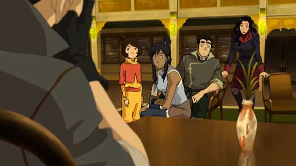 "Legend of Korra: In Harm's Way: ""Jinora's Books"""