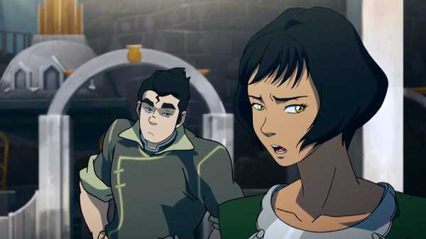 "Legend of Korra: ""The Metal Clan"""