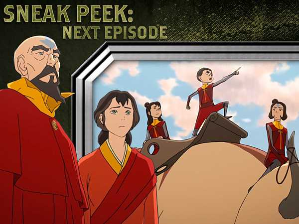 "Legend of Korra: The Calling: ""Traveling the World"""