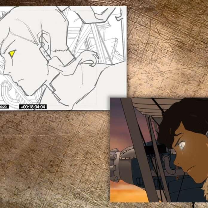 "Legend of Korra: ""Scene Bending: Civil Wars"""