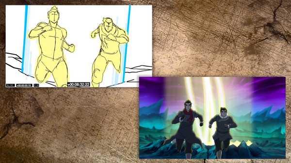 "Legend of Korra: ""Scene Bending: Darkness Falls"""