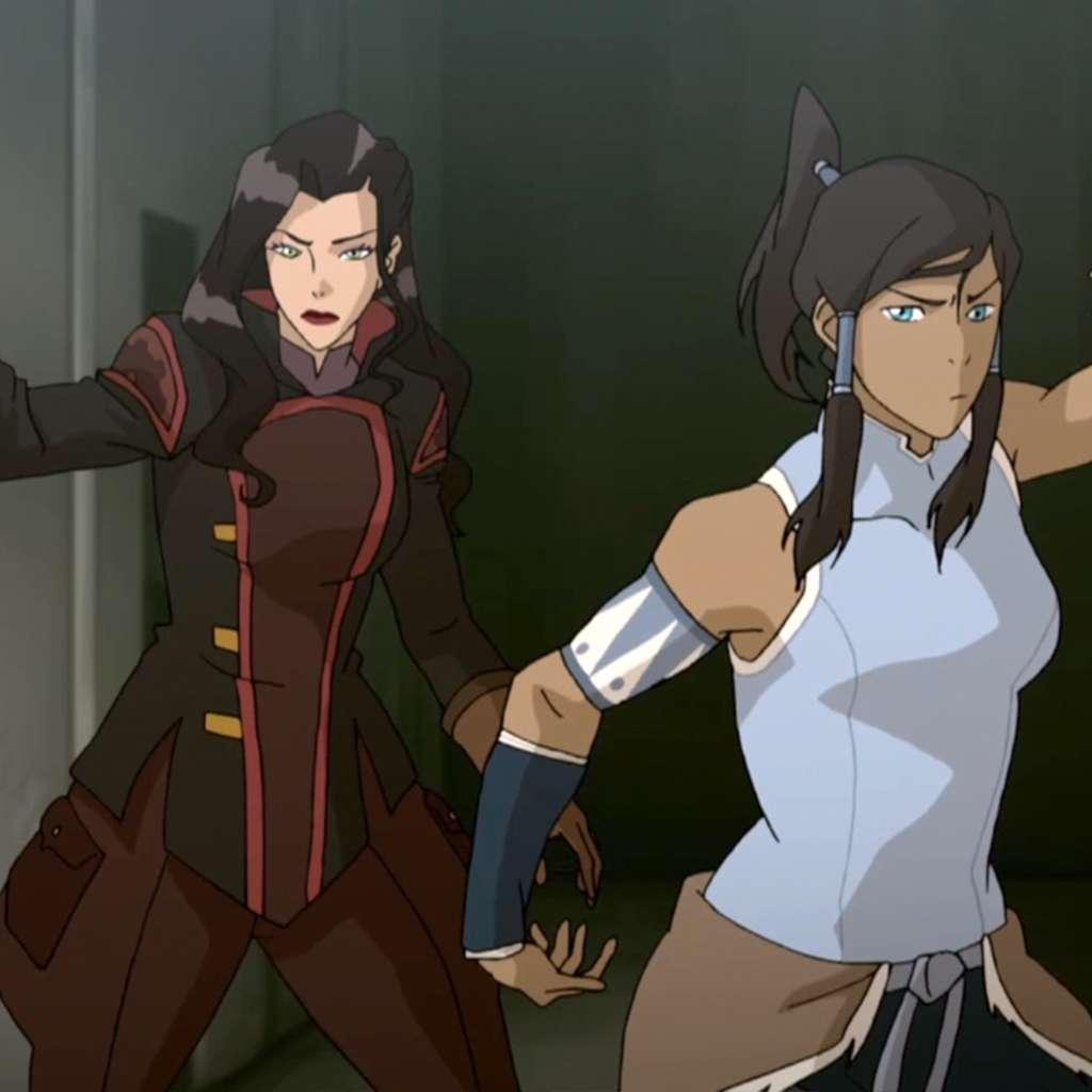 "Legend Of Korra: ""Korra and Asami Take the Airship"""