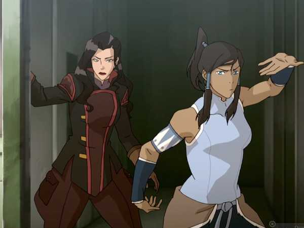 "Legend Of Korra: ""Korra and Asami Take the Airship"""