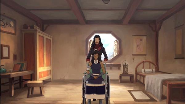 "Legend Of Korra: ""Asami Comforts Korra"""