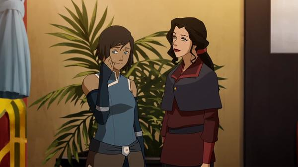 "Legend of Korra: ""Korra and Asami Catch Up"""
