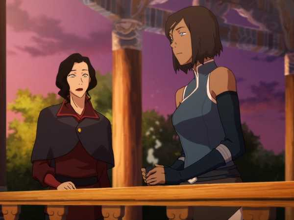 "Legend of Korra: ""Top Korrasami Moments!"""