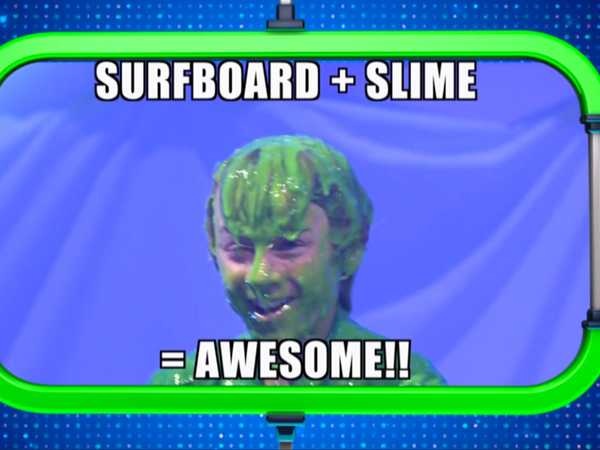 "Webheads: Sleme of the Week: ""Slime Surfboard"""