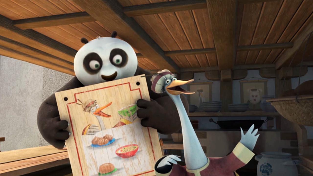 Kung fu panda war of the noodles