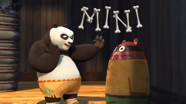 Kung Fu Panda Mini: Po Vs. Punching Bag Rematch